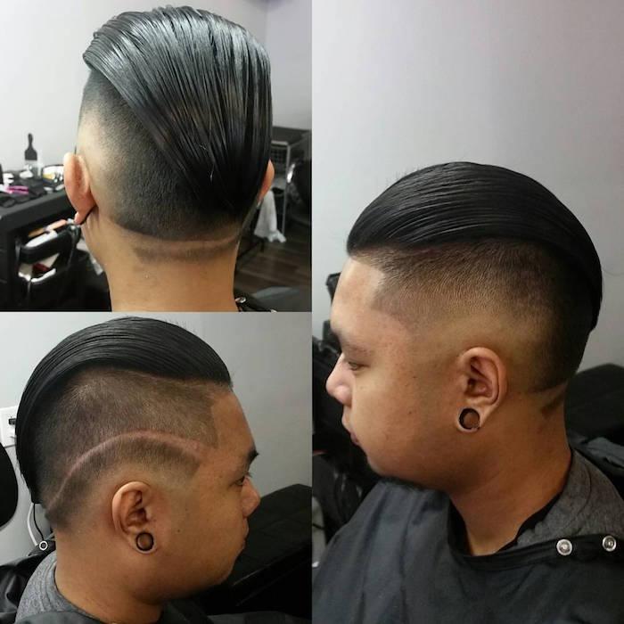 Coupe De Cheveux En Arrire Homme Le Rtro Daujourdhui
