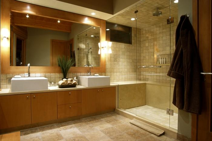 1001 Idees Deco Pour La Salle De Bain Travertin
