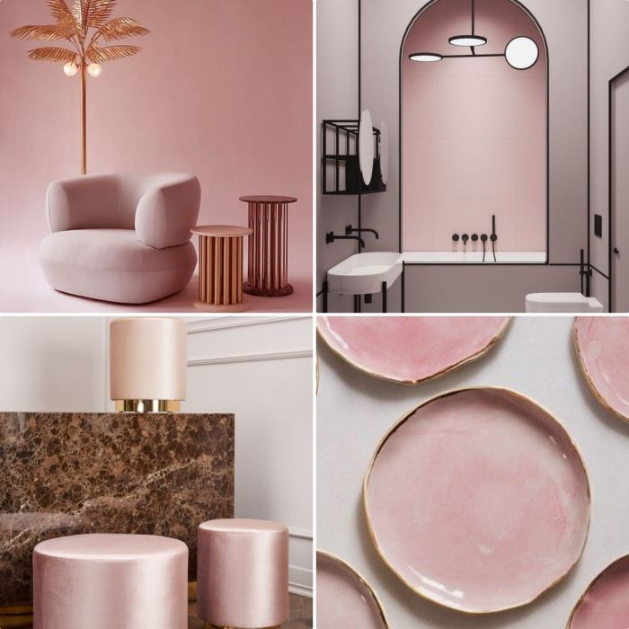 Deco Chambre Rose Gold   tgegypt