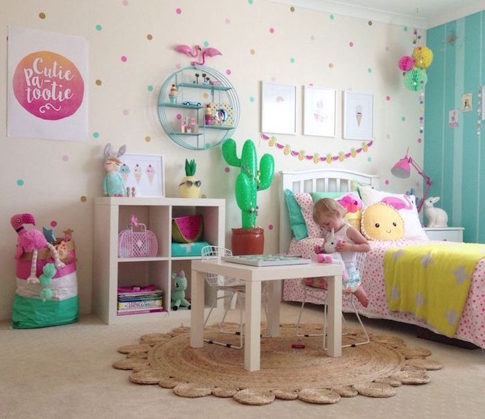 1001 idees chambre petite fille