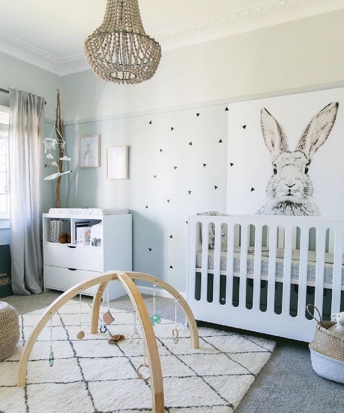 chambre bebe scandinave le blanc de l innocence