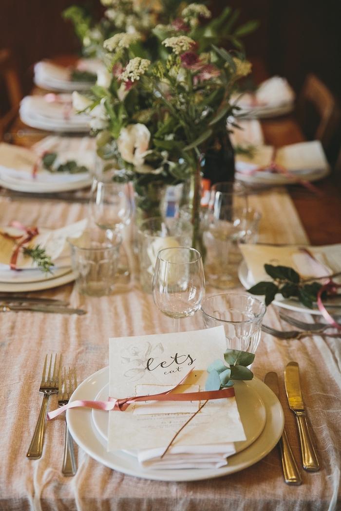 Dcoration De Table Mariage Les Meilleures Ides En