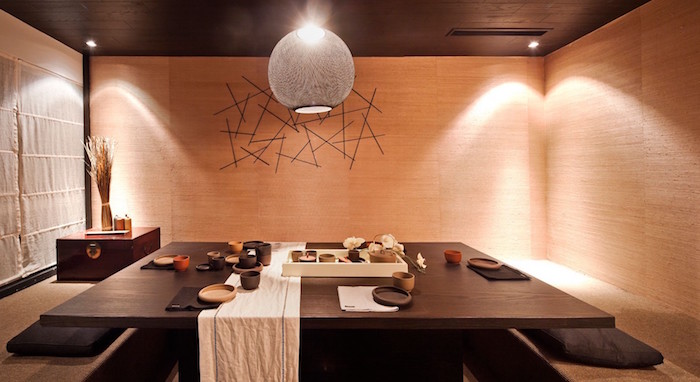 Salle A Manger Japonaise Awesome D Coration Murale Salle