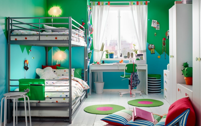 idees originales de peinture chambre