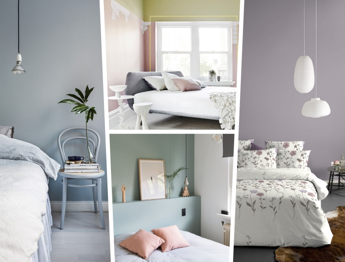 peinture chambre adulte moderne