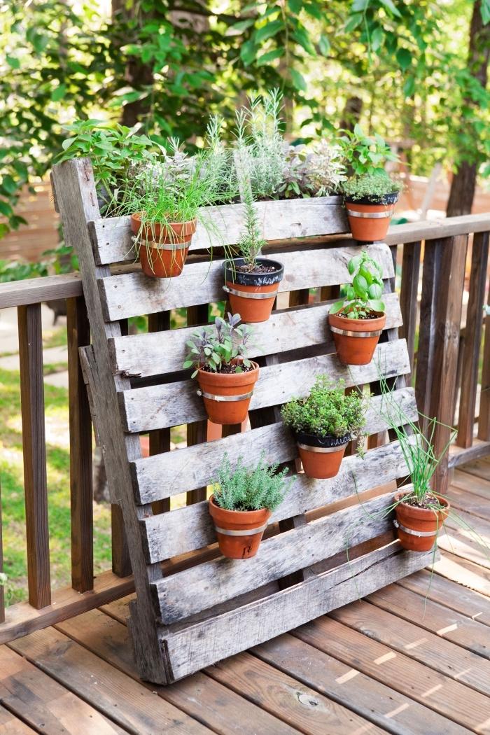 jardin ou potager vertical