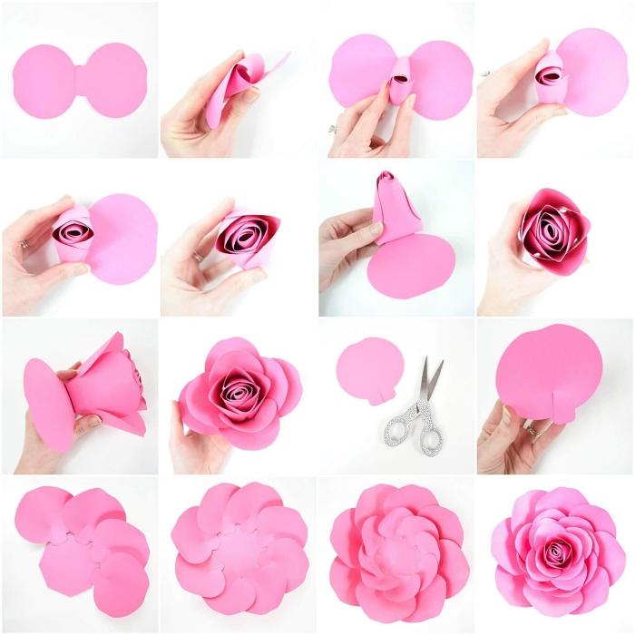 1001 Idees Pour Fabriquer Une Rose En Papier Aussi Belle Que La Vraie