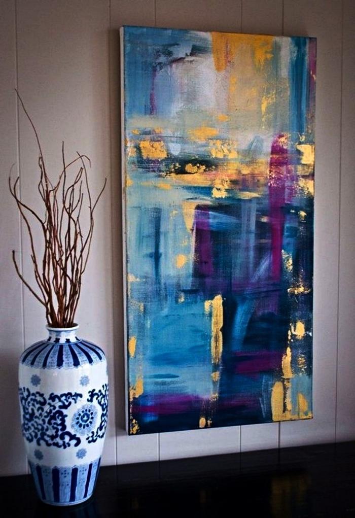la peinture acrylique