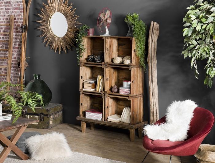 les meubles en bois recycle une