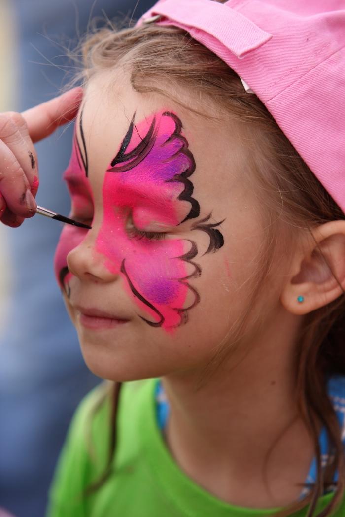 idees de maquillage de carnaval a