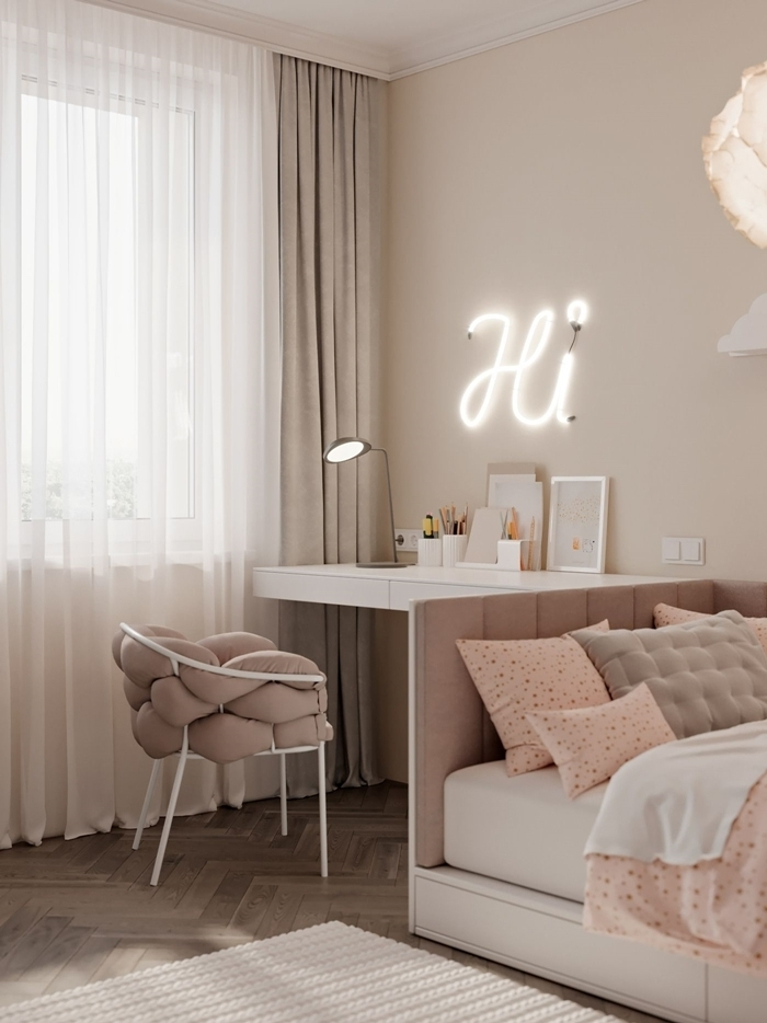 chambre pour ado fille cocooning