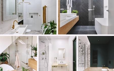 modeles de salle de bain en longueur