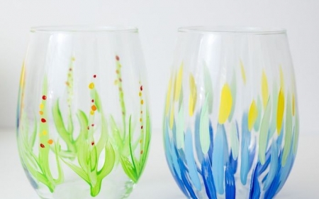 projets diy pour une peinture sur verre
