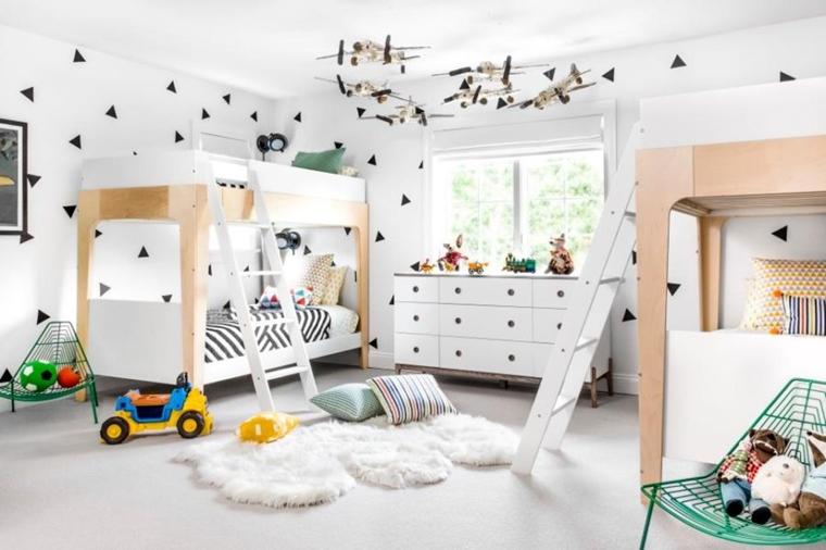 idee per camerette salvaspazio per bambini e ragazzi. Stanzette Per Ragazzi 42 Idee Creative Per Arredamento Moderno