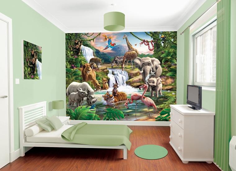 Soluzioni all'avanguardia e materiali di qualità, per rendere la cameretta dei bambini il posto giusto per giocare, studiare e … riposare! Cameretta Bambini Colori Pareti Decorazioni E Design Moderno