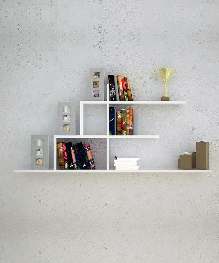Ma se non abbiamo altre pareti libere da sfruttare o, al contrario, abbiamo una parete arredata solo in parte e vogliamo approfittare per completarla con. Arredamento Casa Con Mensole E Ripiani Tantissime Idee Creative