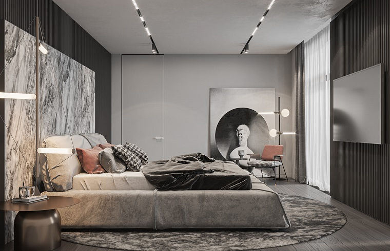 Cartongesso composizione pareti cartongesso cucina camera da letto soggiorno corridoio bagno cameretta. Camere Da Letto Moderne Consigli E Idee Arredamento Di Design Archzine It