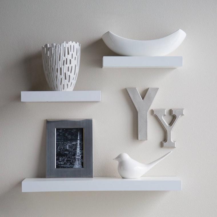 Combinazioni e sovrapposizioni questa è Arredamento Casa Con Mensole E Ripiani Tantissime Idee Creative