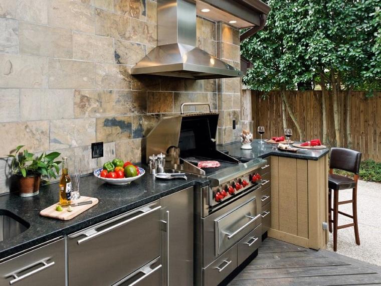 Cucina da esterno ikea in vendita in arredamento e casalinghi: Cucine Da Esterno Soluzioni Tecnologiche E Dal Design Ricercato Archzine It