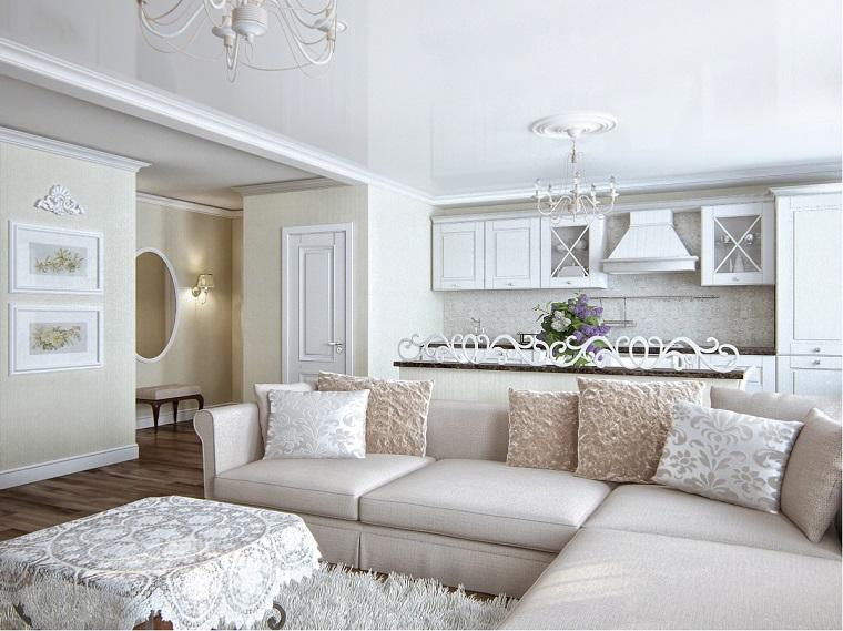 Open space in villa erina home staging soggiorno classico. Salotto Classico Quando L Eleganza Diventa Uno Stile Di Vita Archzine It