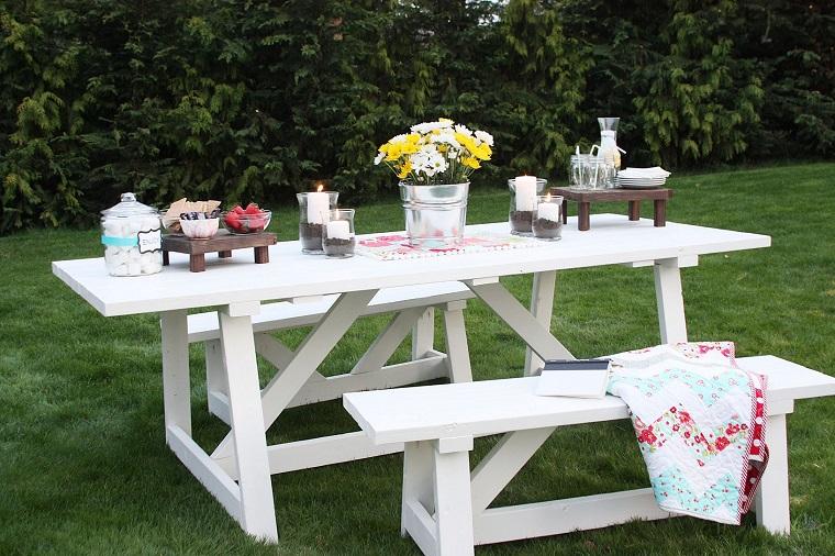 Tavolo Da Giardino In Legno Giardino E Fai Da Te In