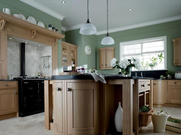 Foto e idee per dipingere le pareti della cucina. Pittura Pareti Cucina Tante Idee Colorate E All Ultima Moda Archzine It