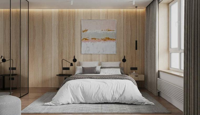 Una camera da letto all'altezza dei tuoi sogni. 1001 Idee Per Colori Camera Da Letto Chiari E Scuri