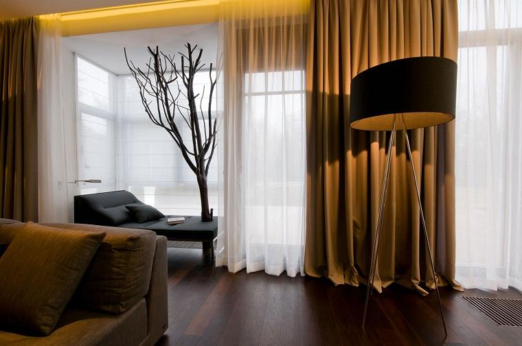 Per il soggiorno sceglierei sicuramente una tenda morbida. Tende Soggiorno 25 Idee Per Valorizzare La Zona Living Archzine It