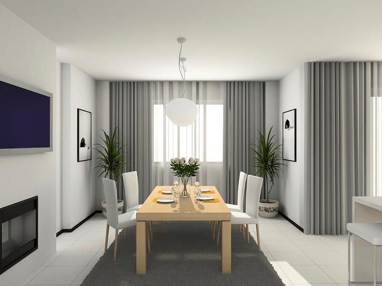 Le soluzioni per dividere lo spazio. Tende Soggiorno 25 Idee Per Valorizzare La Zona Living Archzine It