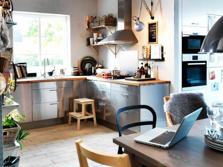 La soluzione ideale per open space e piccoli spazi. 1001 Idee Per Le Cucine Ikea Praticita Qualita Ed Estetica Per Tutti I Gusti