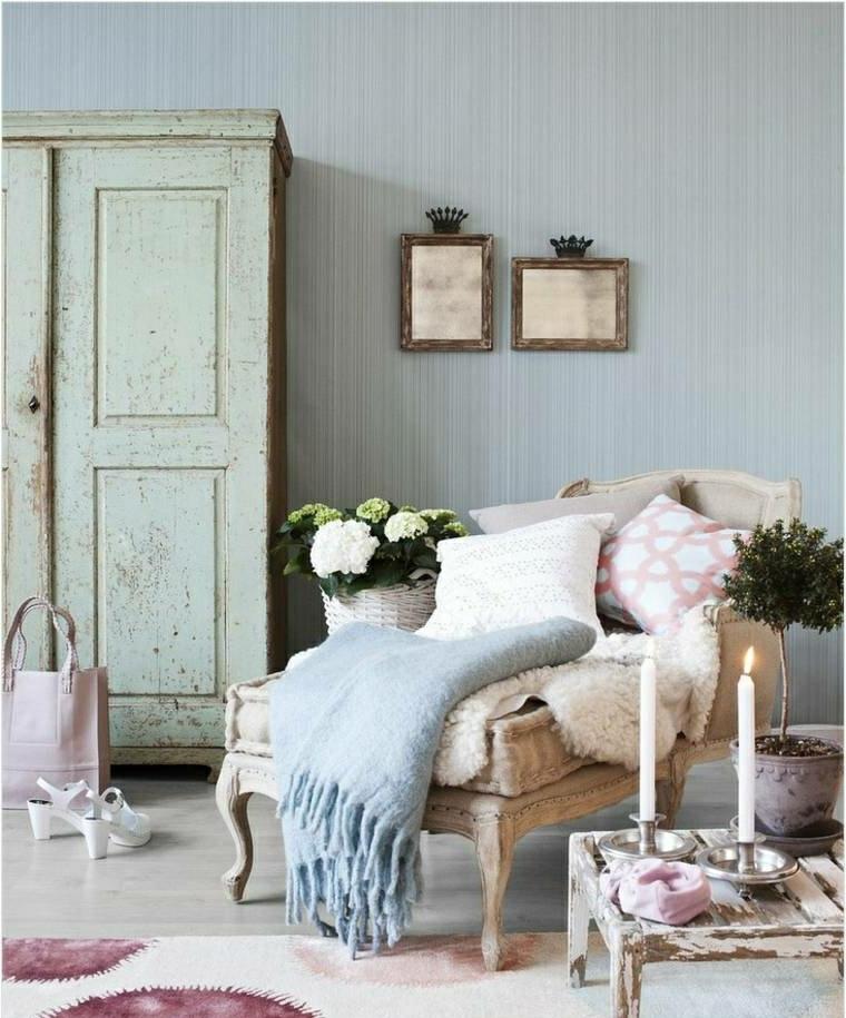 Di base a grana più grossa, pareti colorate o qualche inserto in legno. 1001 Idee Per Stile Shabby L Arredo E La Decorazione