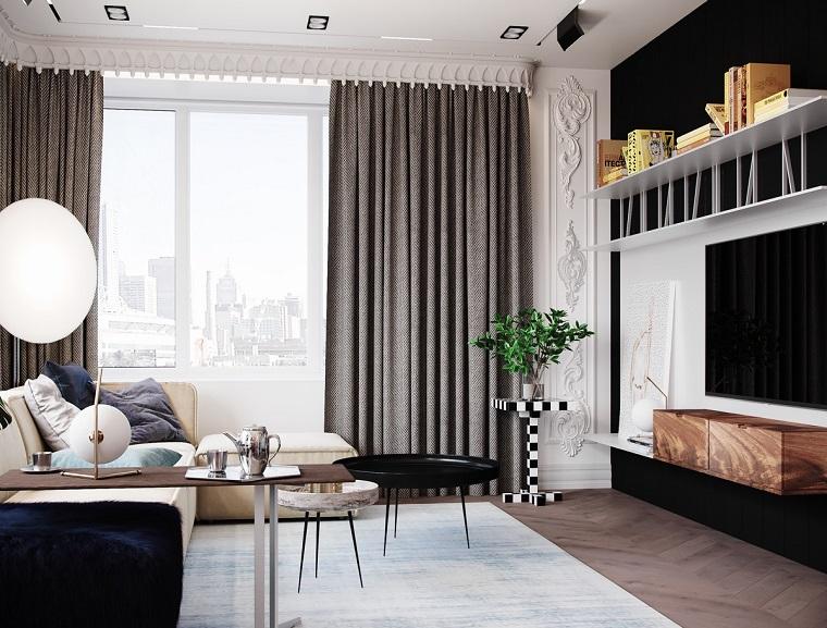 Una casa unica merita un arredamento unico. 1001 Idee Per Case Moderne Interni Idee Di Design