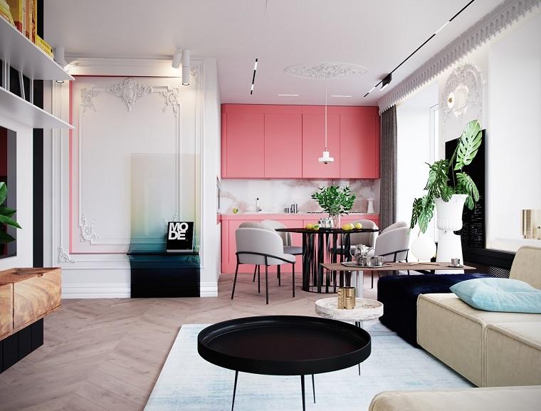 Arredare un casa di un certo valore non è semplice, il rischio di cadere in uno stile esagerato e dunque di cattivo gusto è sempre dietro l'angolo. 1001 Idee Per Case Moderne Interni Idee Di Design