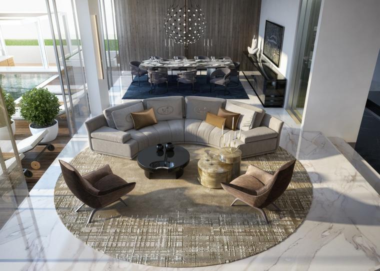 Houzz è il nuovo modo di pensare la casa. 1001 Idee Per Arredare Salotto E Sala Da Pranzo Insieme Con Stile E Funzionalita