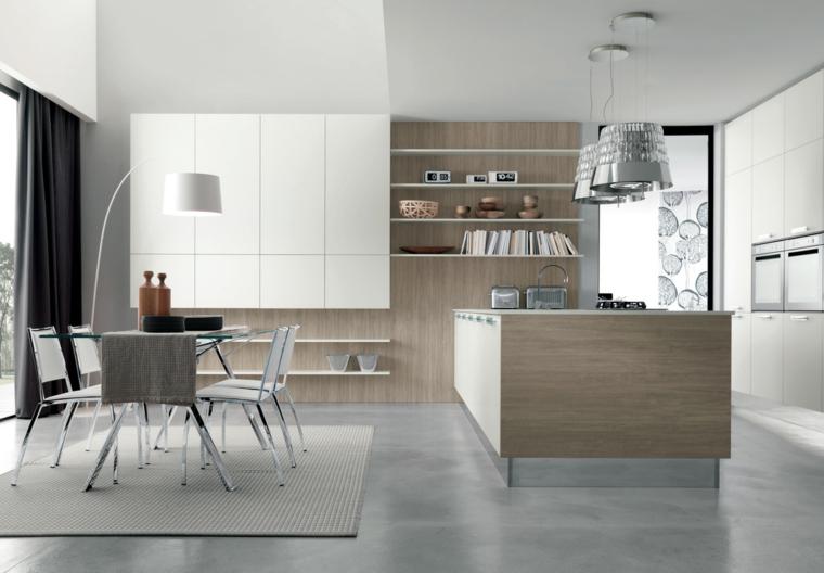 Oggi ingresso e soggiorno sono un ambiente unico. 1001 Idee Per Cucina Open Space Dove Funzionalita E Comfort Si Uniscono Con Stile
