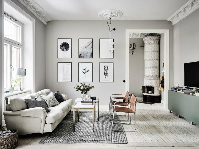 Esempio di abbinamento color tortora in una camera da letto con struttura letto bianco e comodini scuri. 1001 Idee Per Color Tortora Alle Pareti All Arredamento