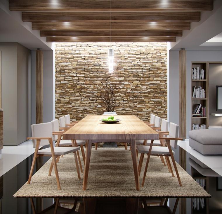 Ispirazione arredamenti moderni casa design idee su arredamento. 1001 Idee Per Pareti In Pietra In Tutti Gli Ambienti Interni