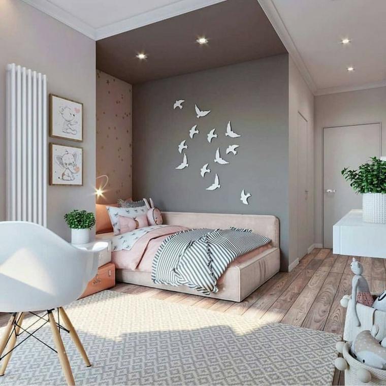 Per questo motivo, nelle camerette moderne sono da preferirsi materiali,. 1001 Idee Per Camere Da Letto Per Ragazze Arredo In Base All Eta