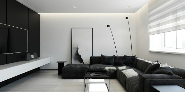 Se avete un soggiorno abbastanza grande da potervi permettere di acquistare due divani, ecco 4 idee su come disporre i divani in soggiorno a seconda dello spazio e della conformazione della stanza. 1001 Idee Come Arredare Un Soggiorno Rettangolare