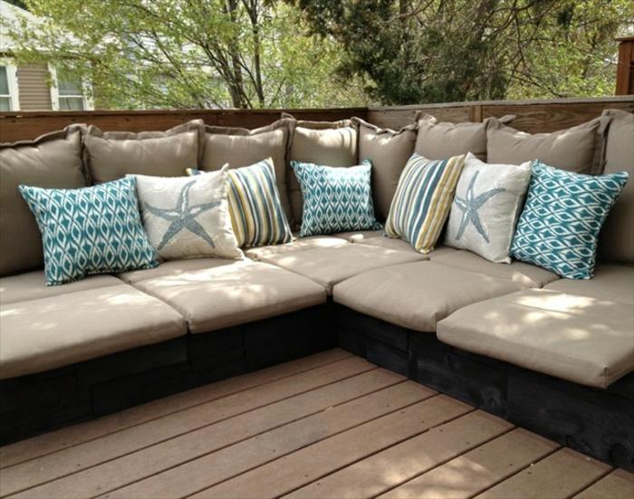 Gartenmöbel selber bauen lounge anleitung  Luxus Balkonmöbel Günstig Selber Bauen