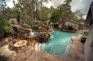 Effektvolle Poolgestaltung im Garten   Archzine.net