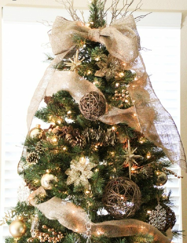 Wunderschne Ideen Fr Weihnachtsbaum Deko