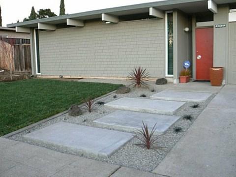 bilder steingarten vor dem haus unglaubliche bilder: moderner steingarten! - archzine