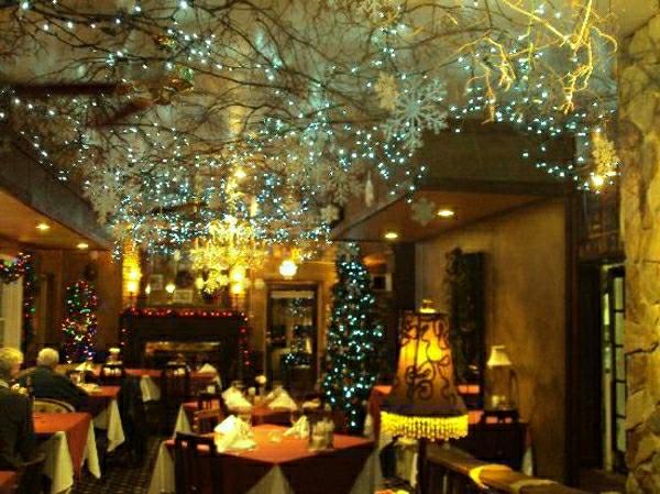 Weihnachtsdekoration Ideen Fr Restaurants