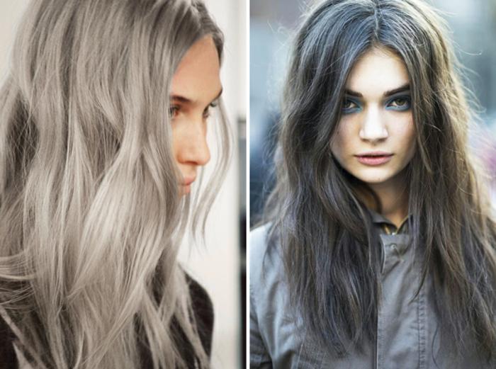 Graue Haare Sind Das Neue Blond