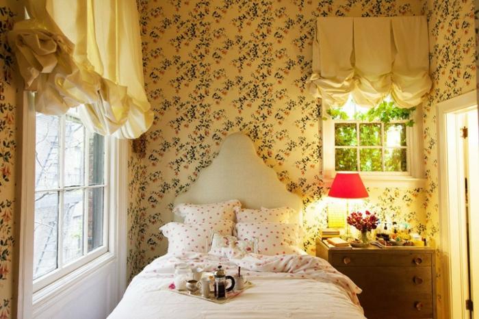 Schnes Vintage Babyzimmer Design Romantische Niedliche