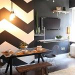 Geometrische Formen Tolle Wandgestaltung Mit Farbe Archzine Net