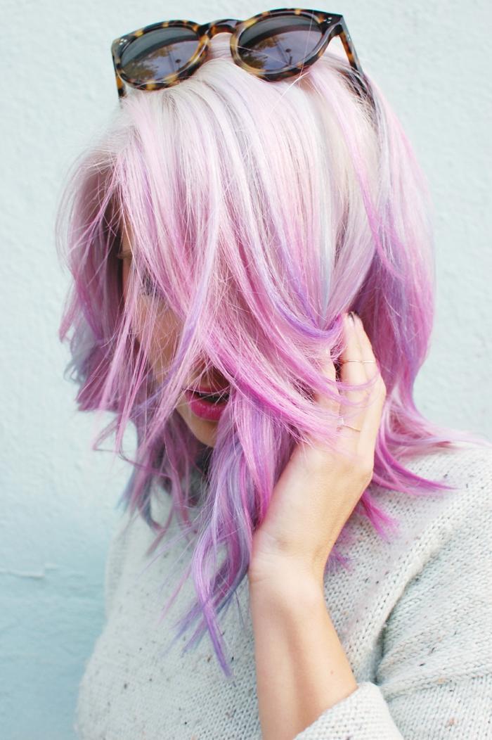 1001 Ideen Fr Bunte Haare Bunte Haarfarben Sind Immer