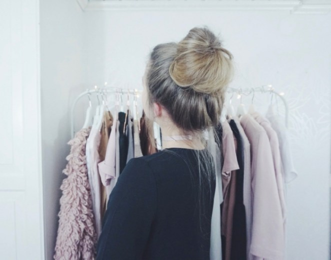 a wardrobe, beautiful hairstyles for long hair, messy bun, updo hairstyles