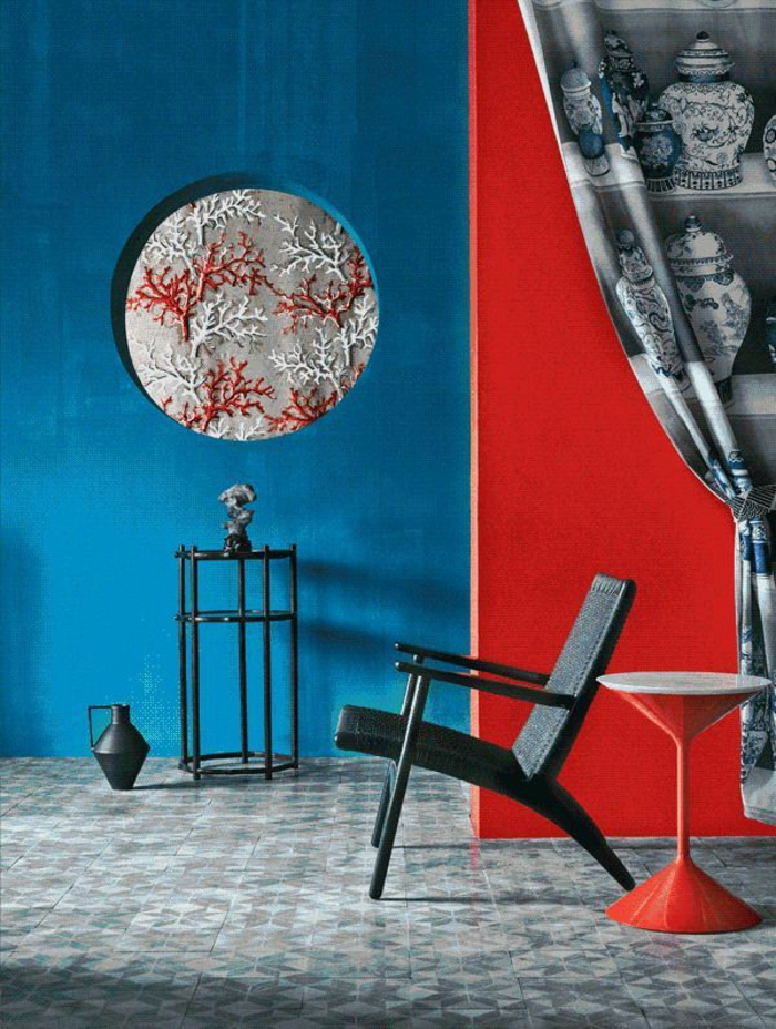 welche farbe passt zu rot. Black Bedroom Furniture Sets. Home Design Ideas